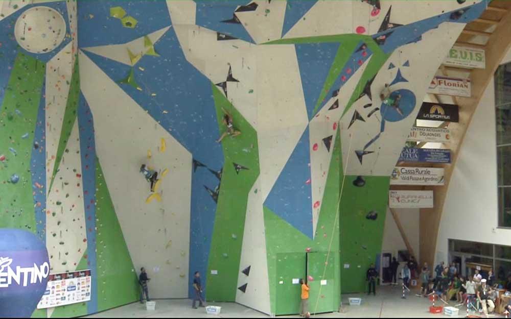 Stěna v Campitello di Fasa