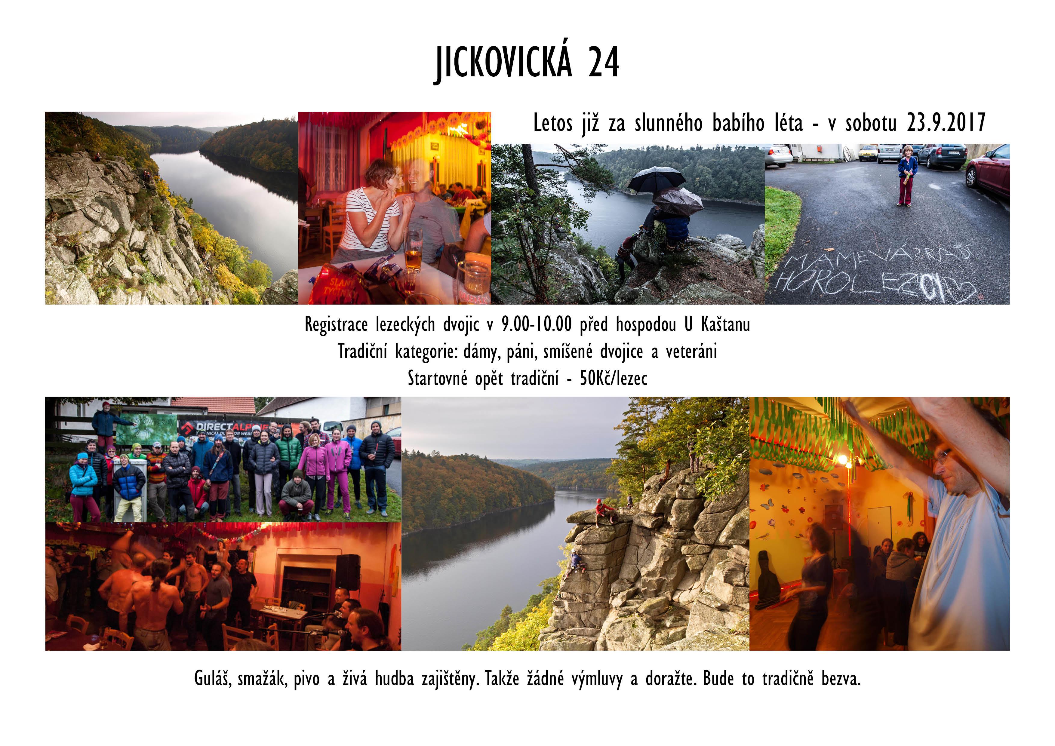 Pozvánka na Jickovickou 24