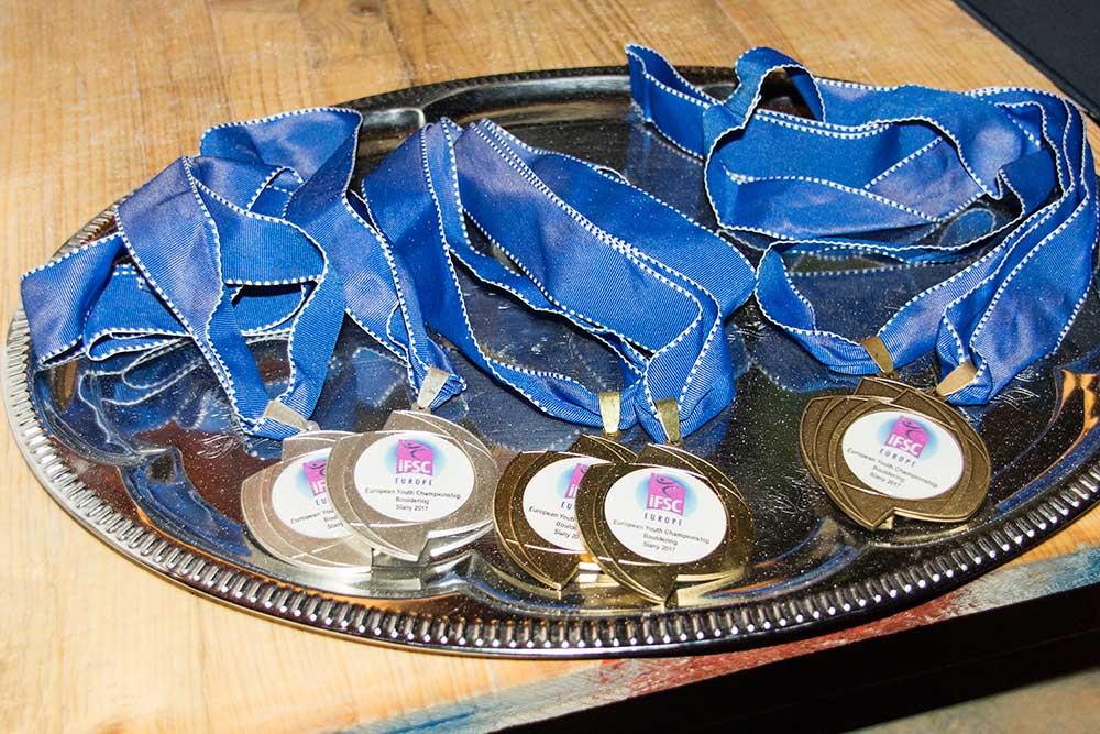 Medaile pro ME juniorů