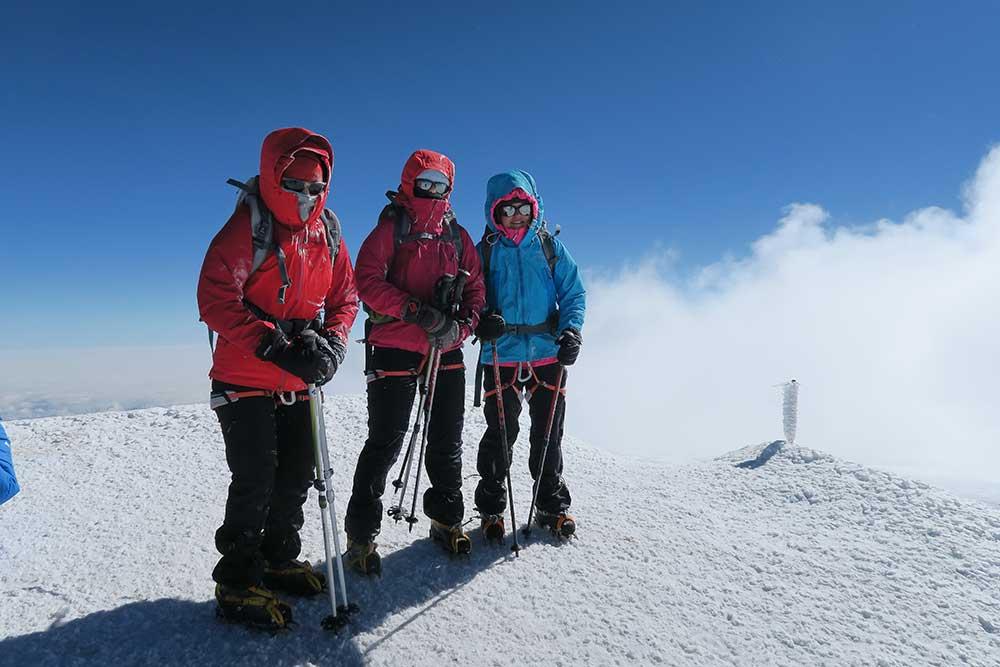 Vrchol Elbrusu