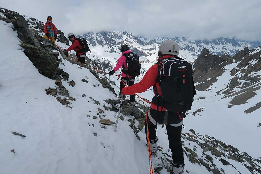 Výstup na Ochsenkopf, Silvretta