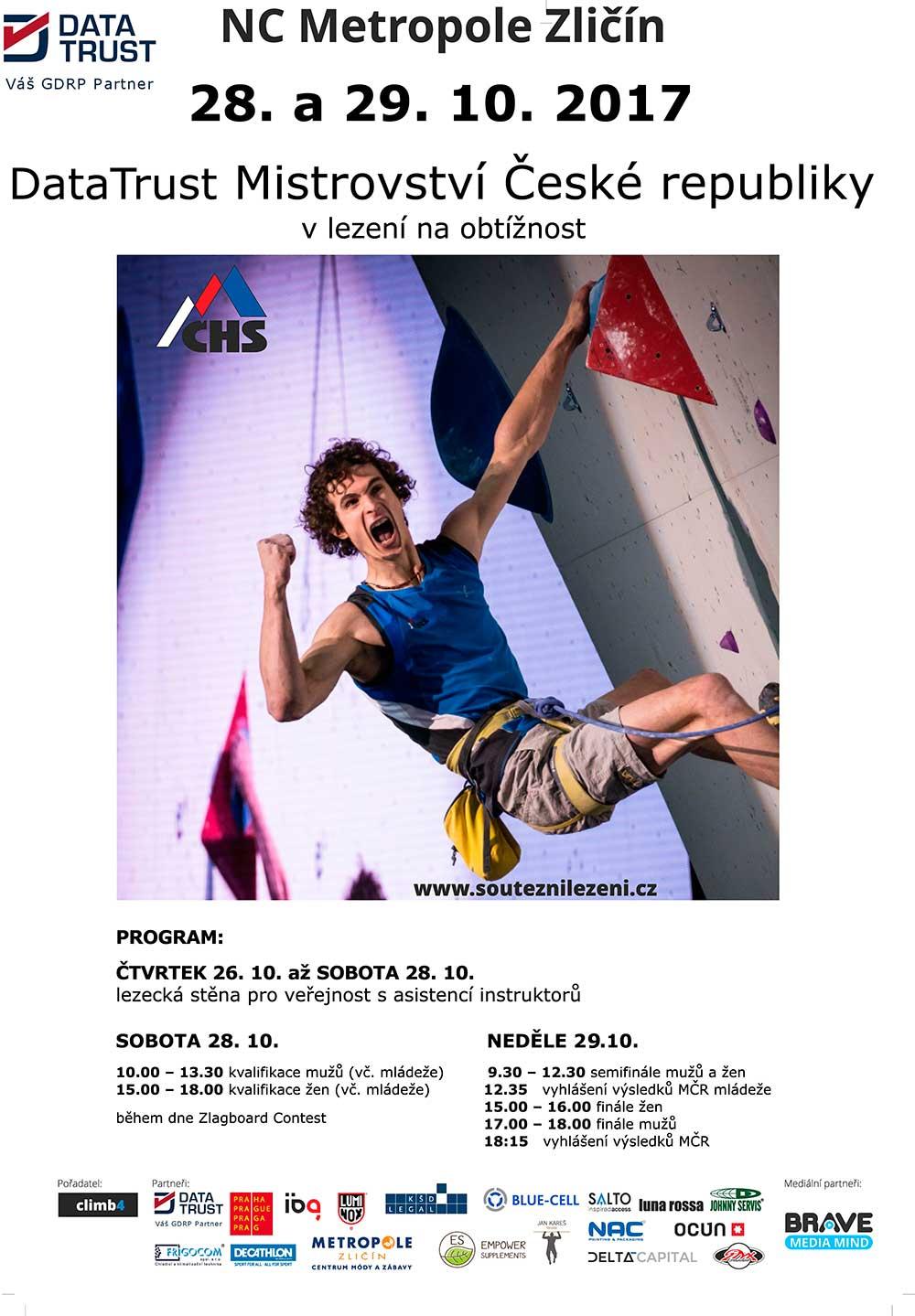 Poster DataTrust MČR 2017