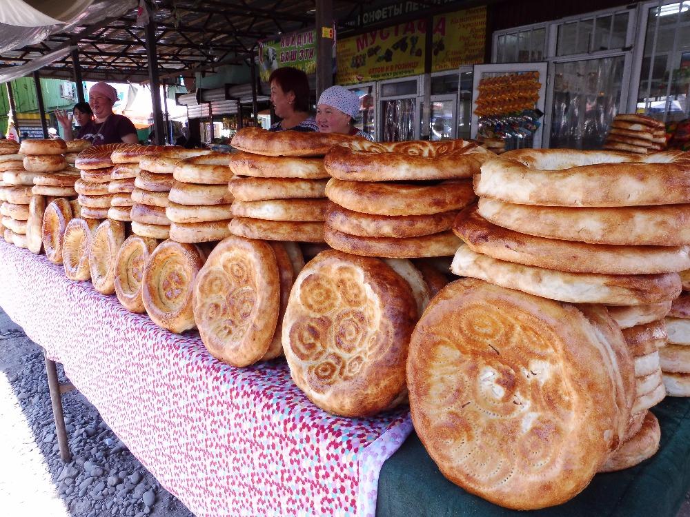 Tradiční kyrgyzské chleby