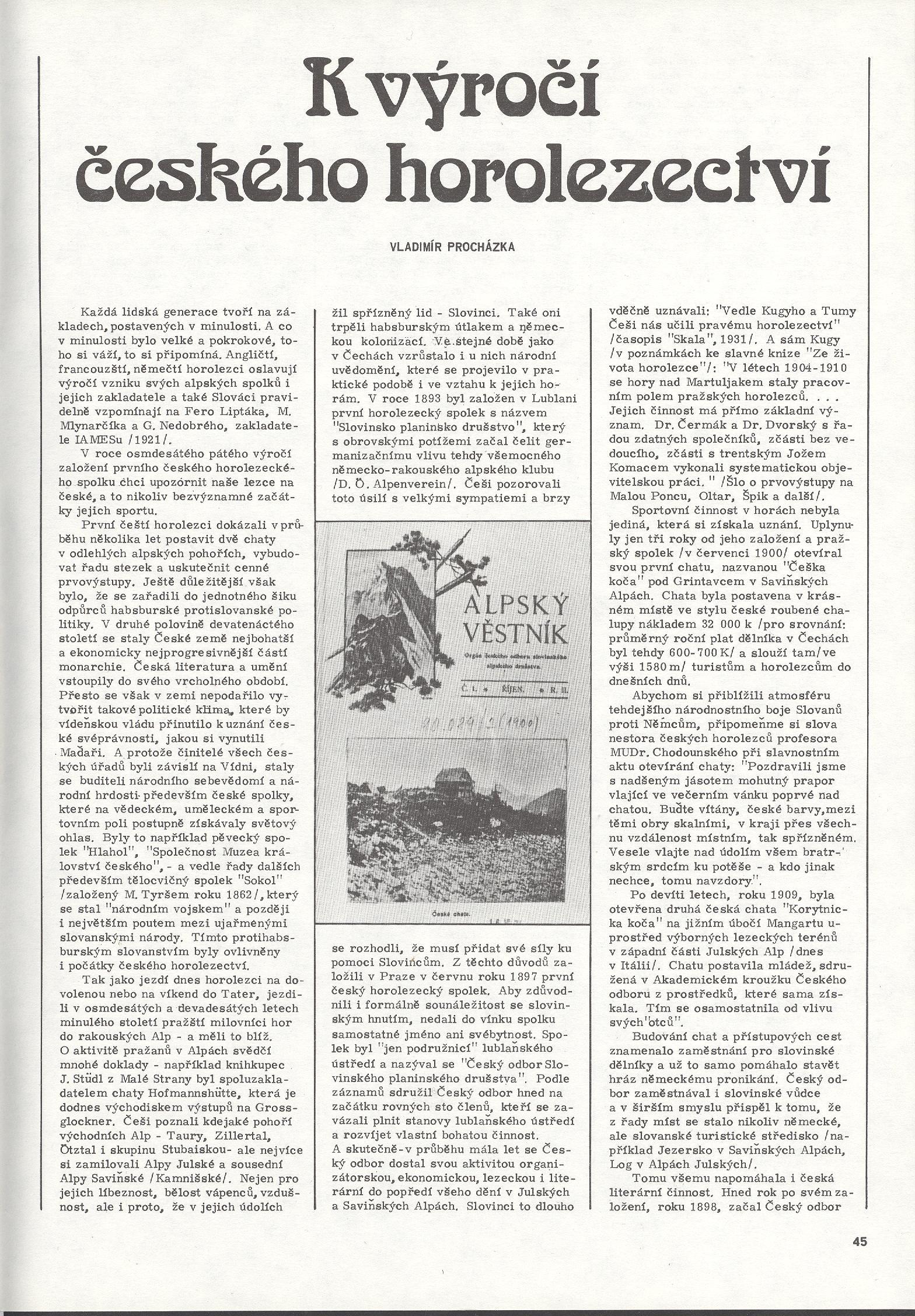 článek Hory 16 - 1