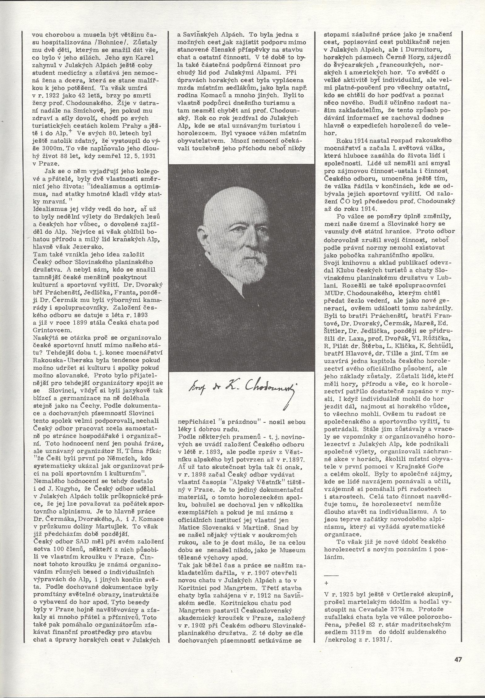 článek Hory 16 - 3