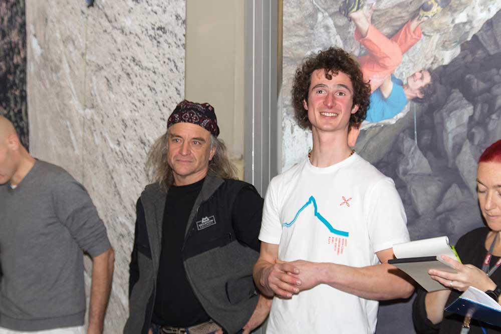 Fotograf Heinz Zak a jeho model Adam Ondra