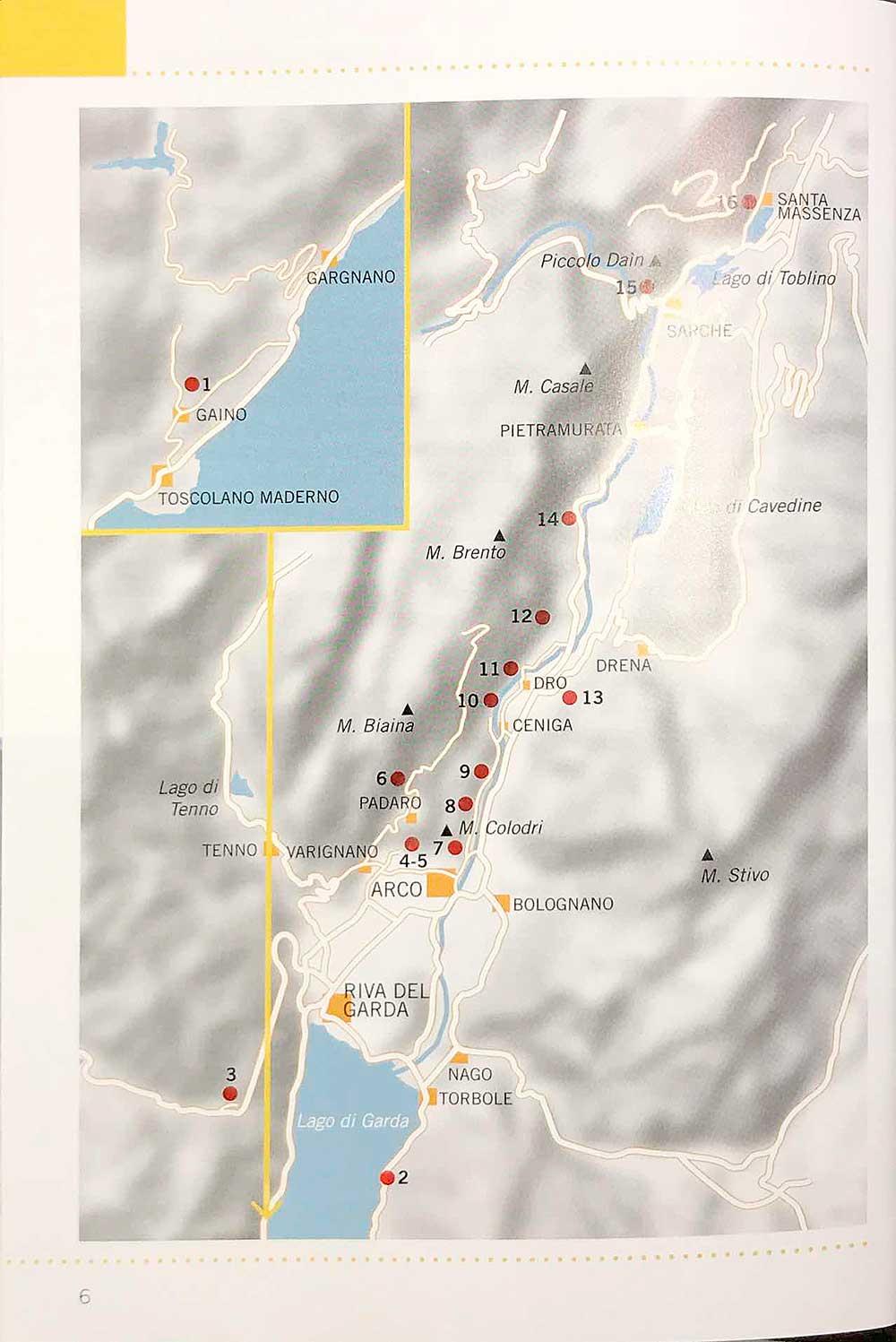 Mapa oblastí
