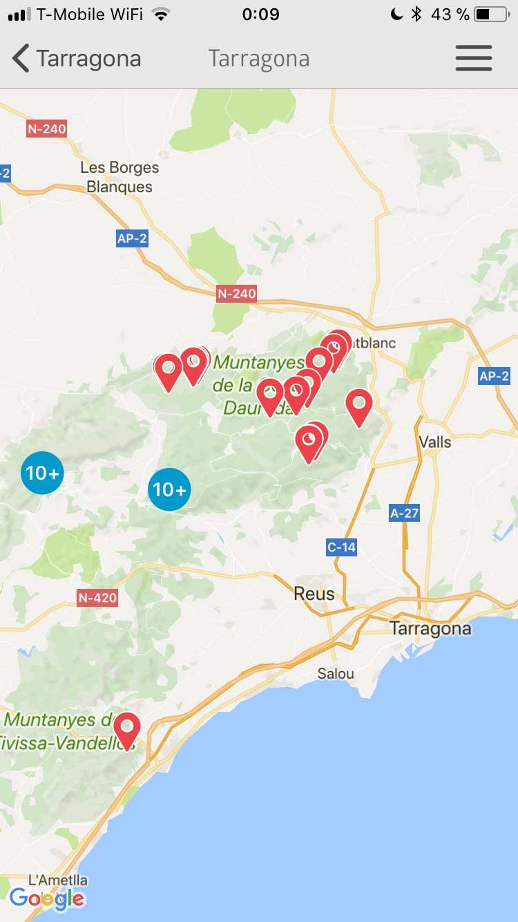 Region Tarragona