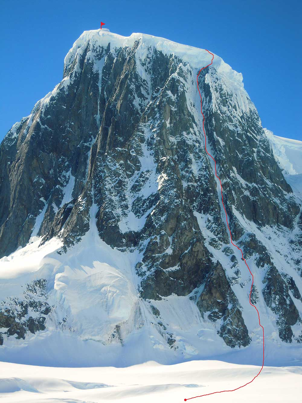 Monte Pizduch - Antarctica 2018