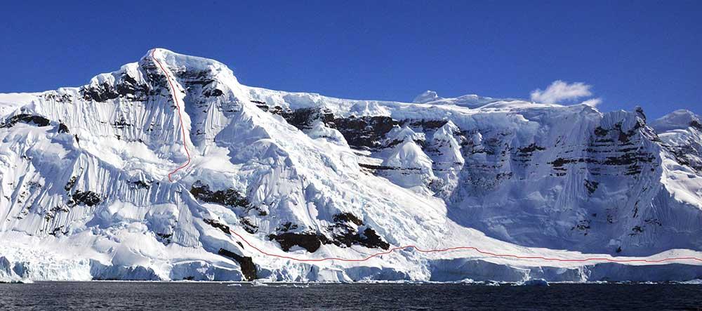 Monte Samila-Antarctica 2014