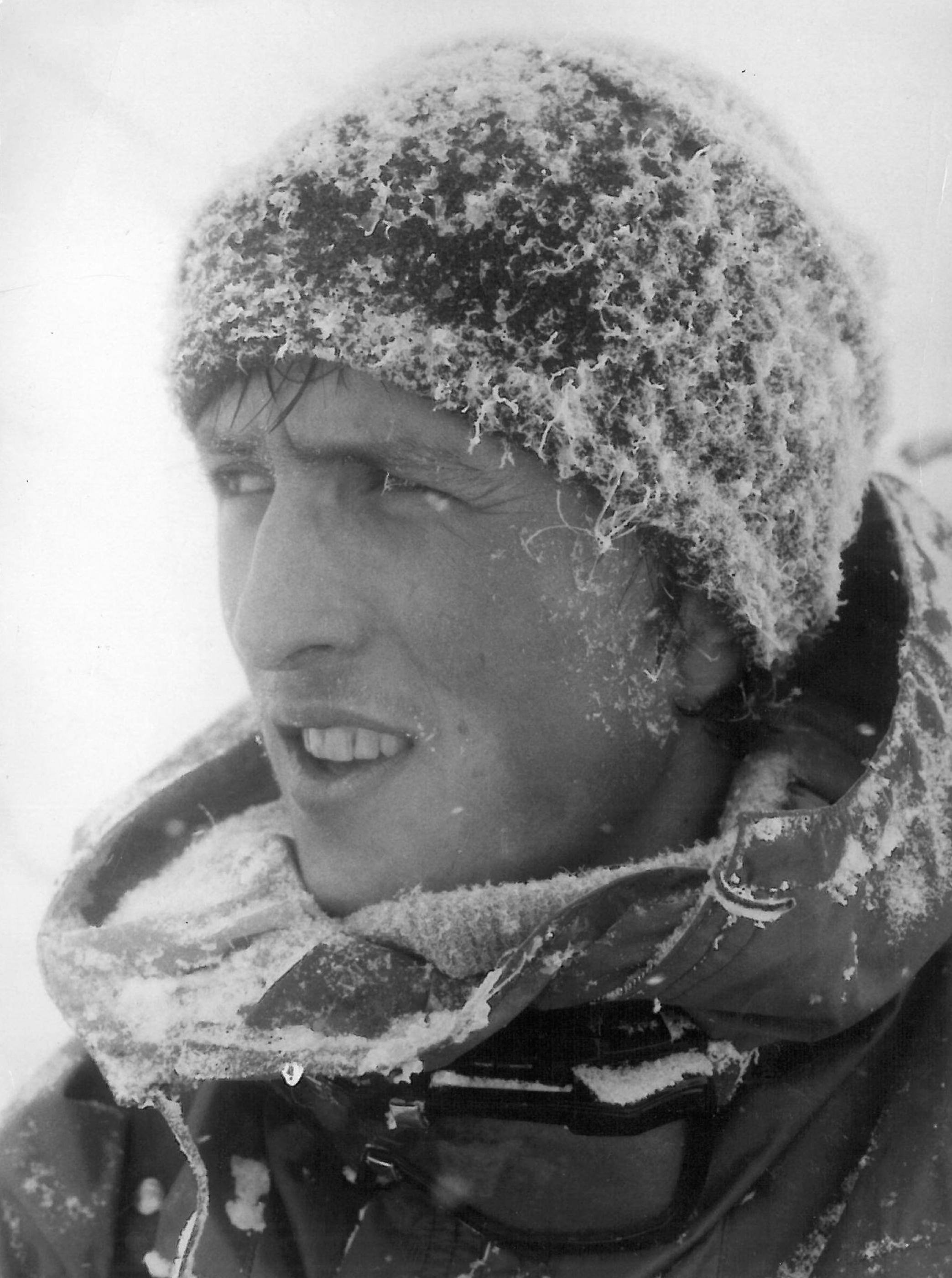Honza Procházka na expedici Tatry 70