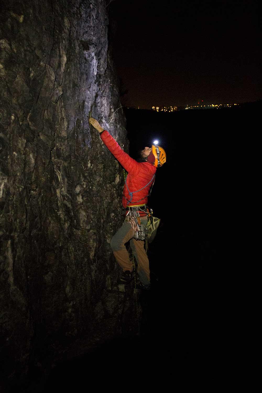 Na lezení jsou vhodné široké postranní LEDky
