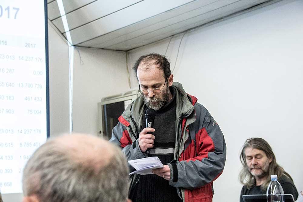 Martin Mašát, zpráva revizní komise