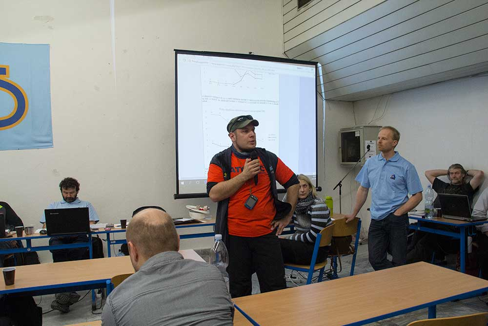 Viktor Lada upozorňuje na problémy správy skal