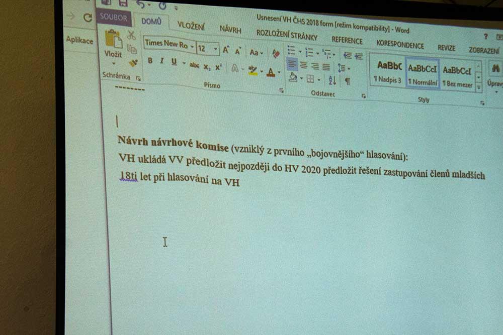 Návrh do usnesení