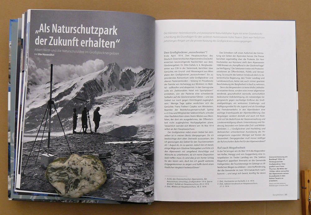 Ukázka z ročenky Alpenvereinu BERG 2018