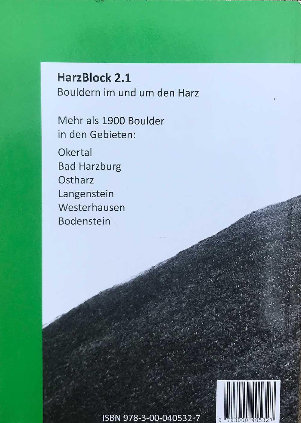 HarzBlock zadní strana