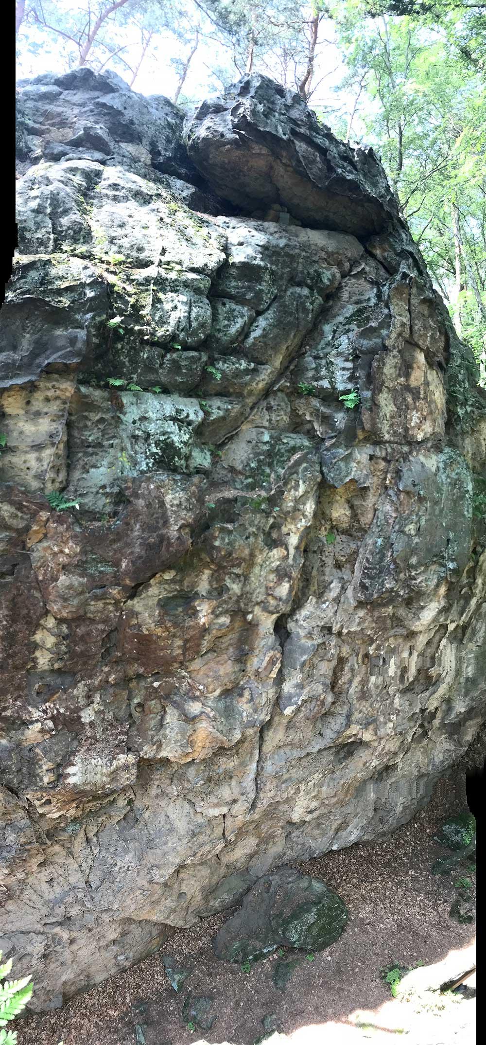 Železná stěna - Pilíř