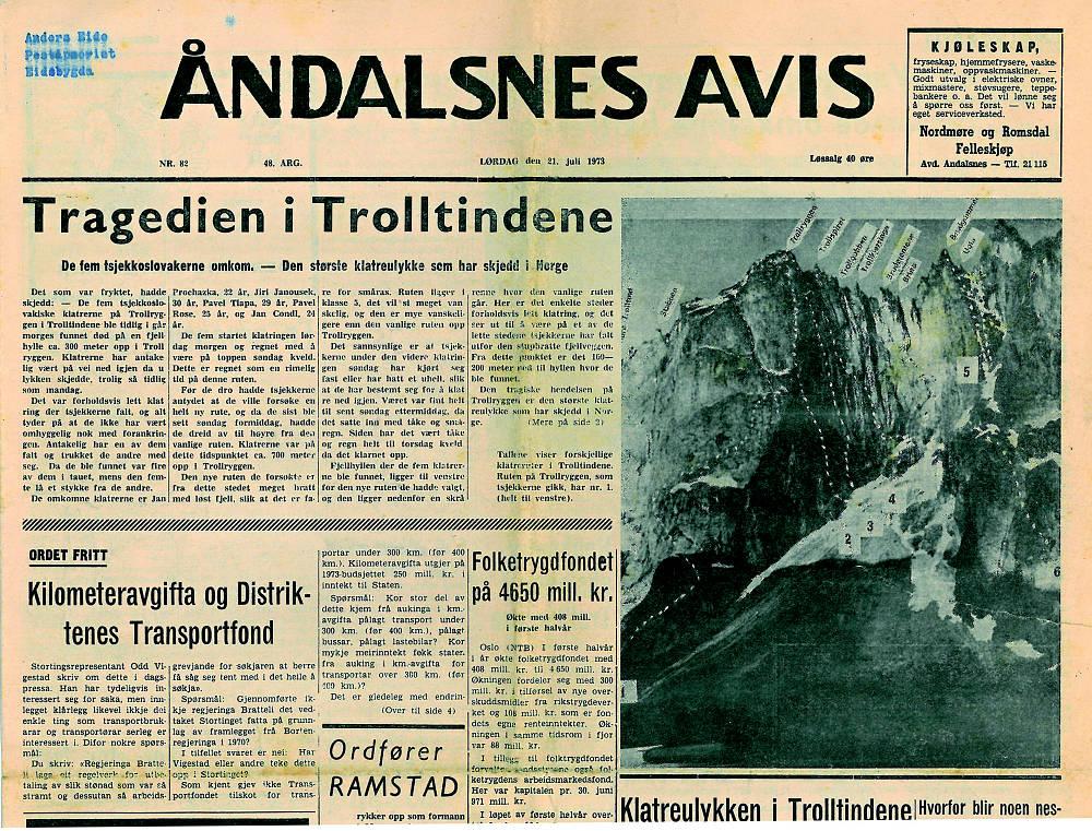Aandals Avis 19. 7. 1973
