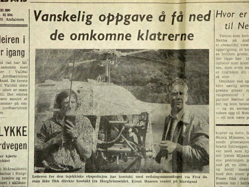 Gerd Tschunko a pilot Ernst Hansen