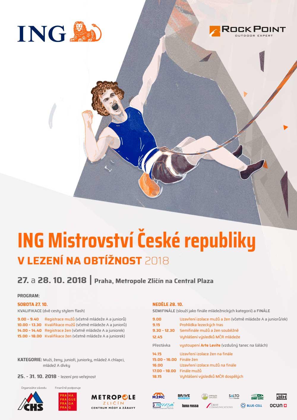 Plakát MČR 2018