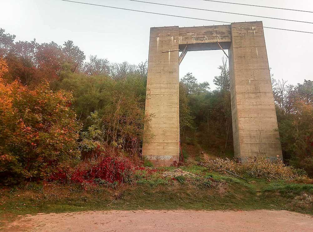 Drytoolcup Brno - dálniční pilíř po Němcích
