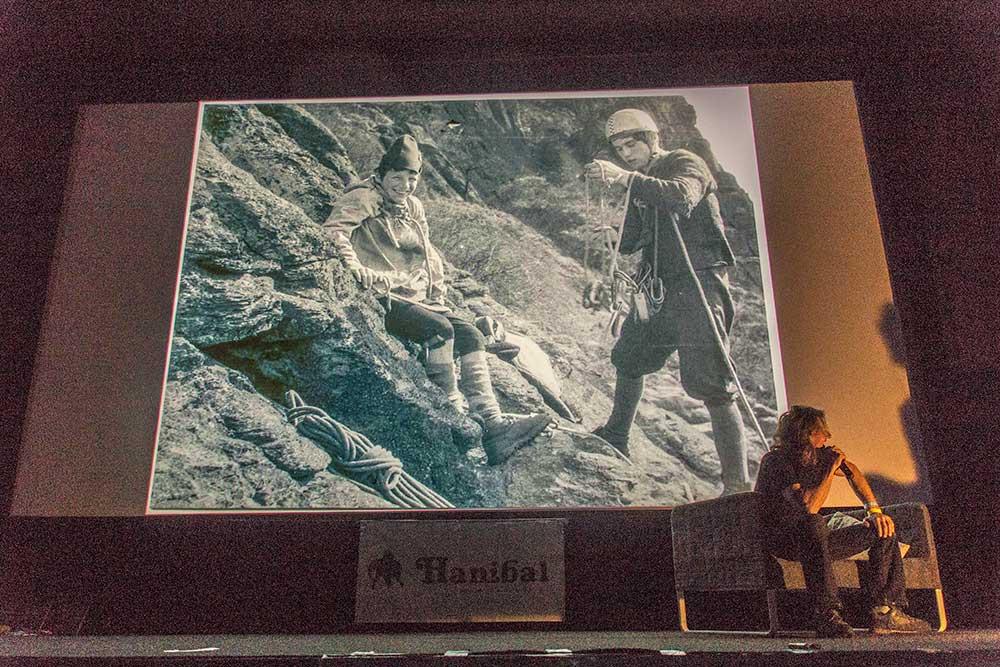 Jiří Prcas Slavík, první zámá lezecká fotkla