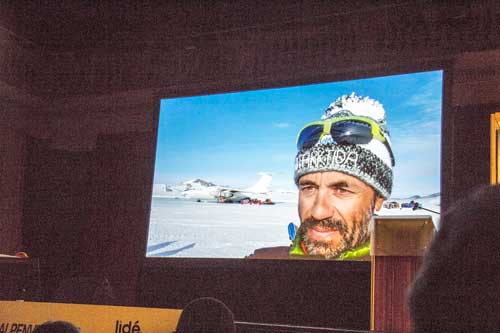 Radek Jaroš, Antarktida