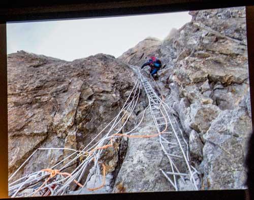Nanga Parbat, nepoužitelný šrot na Kinshoferových skalách