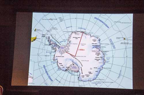 Přechod jižního pólu