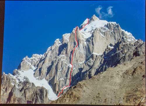 Prvovýstup v Karakoramu