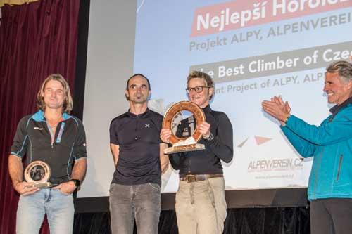 Nejlepší horolezec: Rodiče Adama Ondry a Mára Holeček