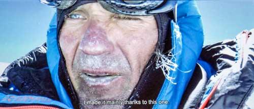 Mára na vrcholu Gasherbrumu
