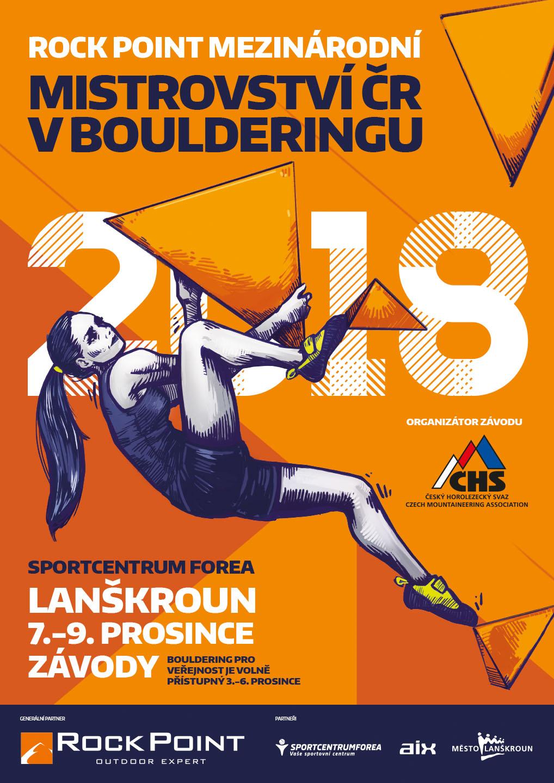 MCR bouldering plakát 2018