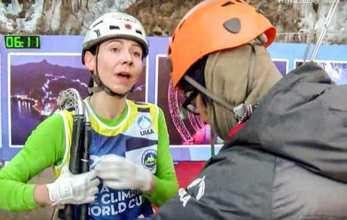 Irka Eimir McSwiggan postoupila do finále na posledním místě a stříbrem překvapila sama sebe