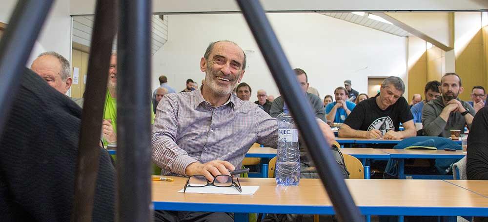 Igor Koller, předseda JAMESu