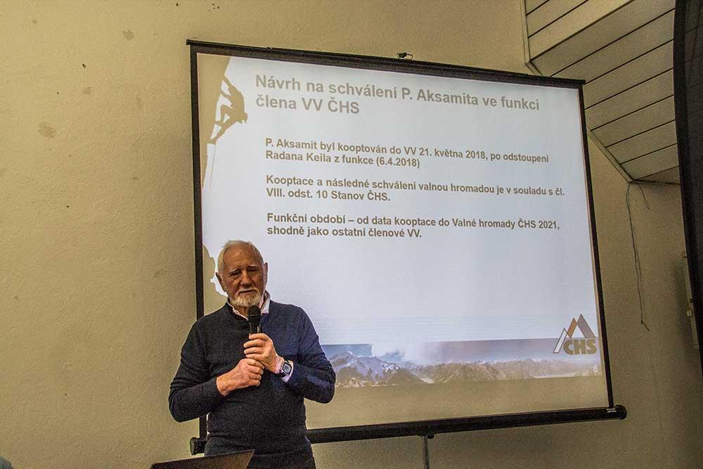 Gerd Tschunko představuje Pavla Aksamita