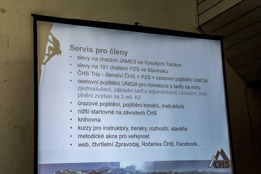 Zpráva o činnosti - Servis pro členy