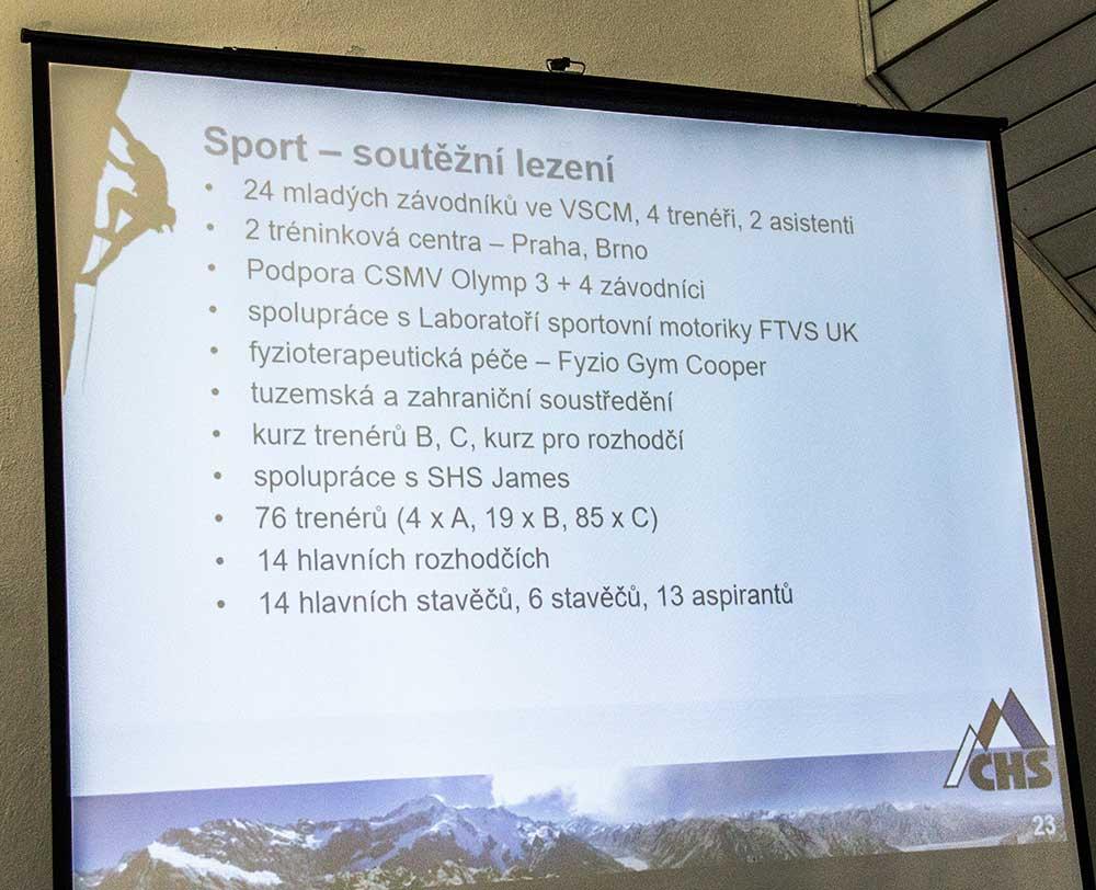 Zpráva o činnosti - Posrt - soutěžní lezení 2