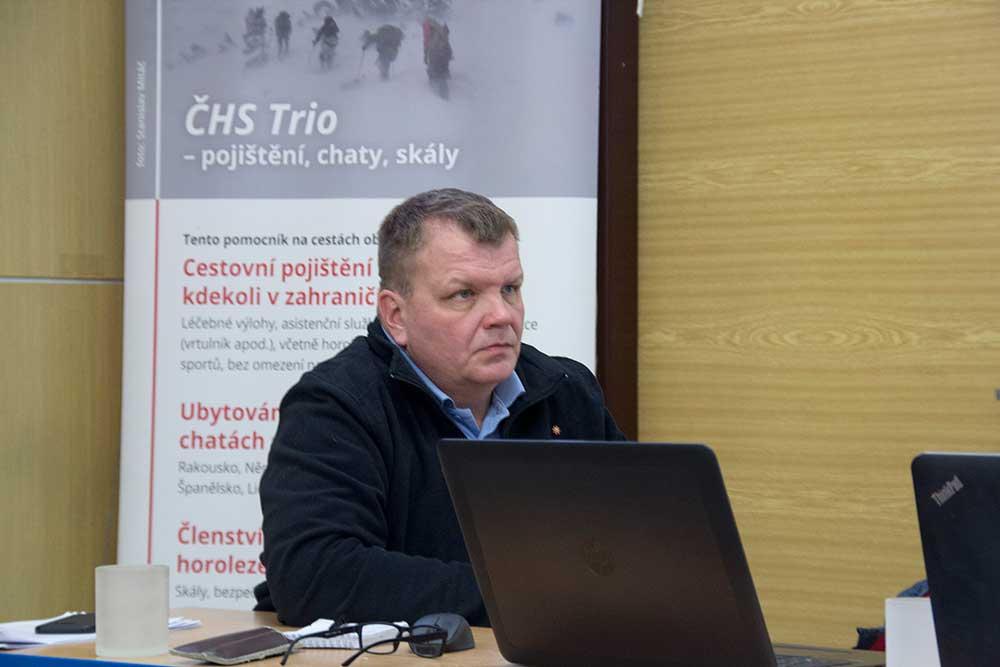 Ekonomický místopředseda Martin veselý