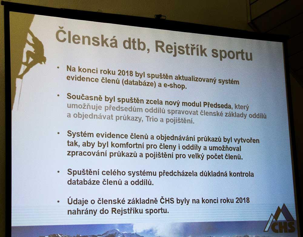 Členská databáze, Rejstřík sportu