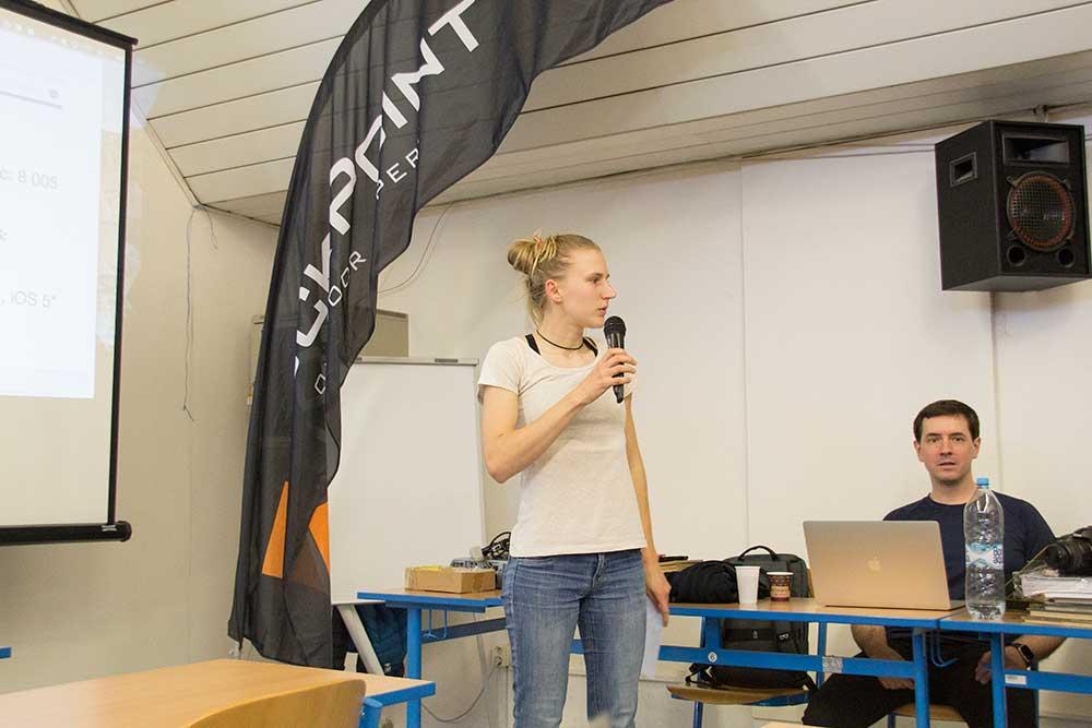 Předsedkyně komise mládeže Magda Jančíková