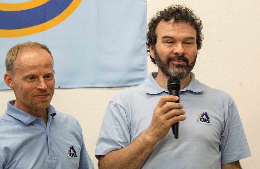 Honza Bloudek a Petr Resch