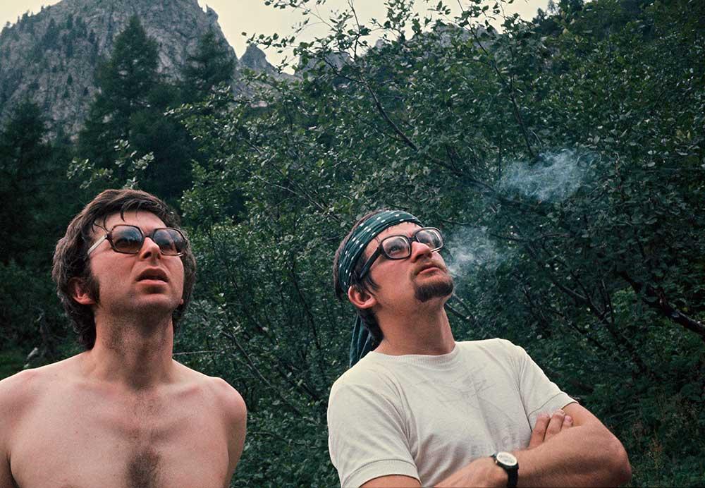 Igor Novák vpravo, Petr Bigo Brzák vlevo