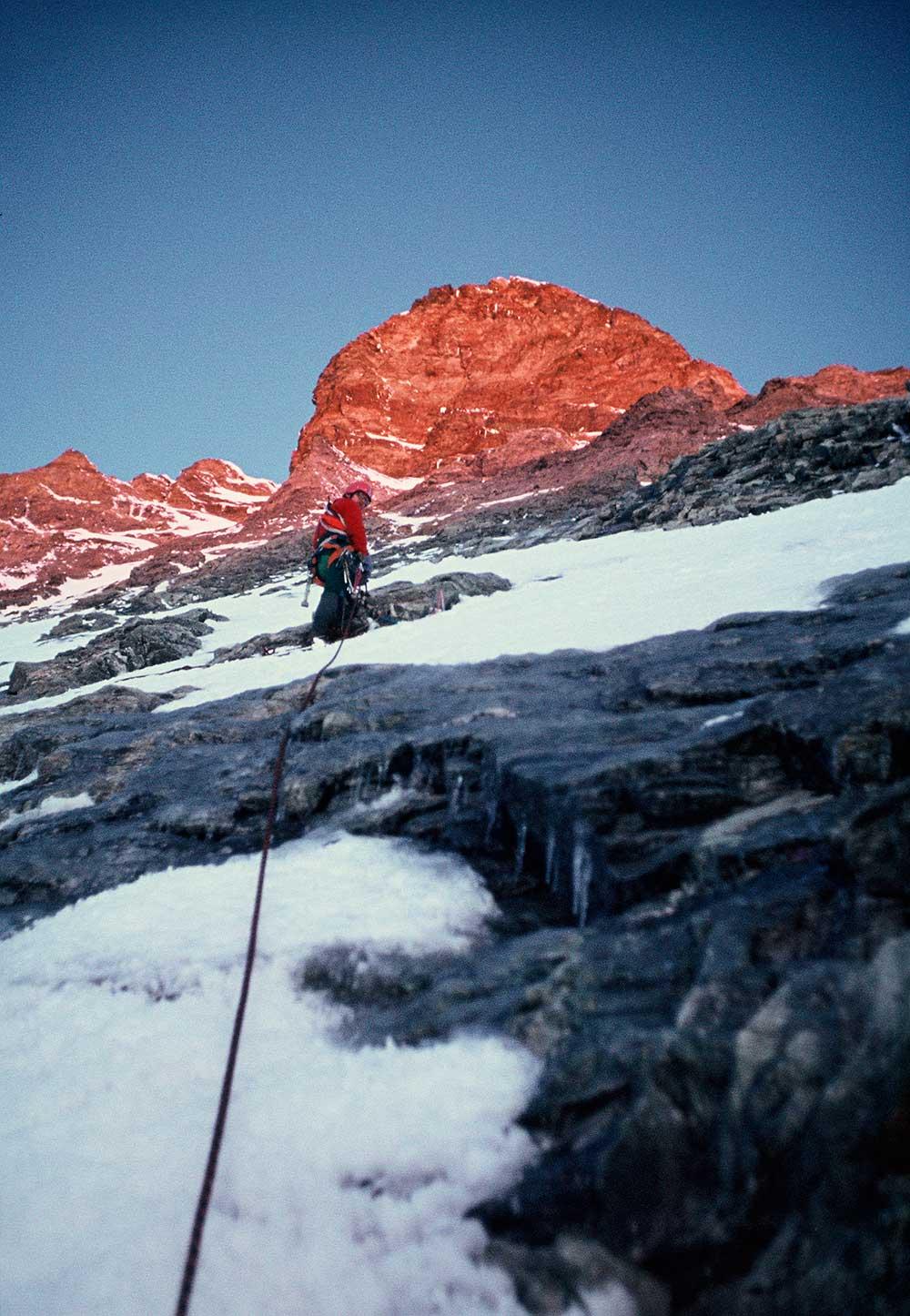 Igor Novák na Matterhornu
