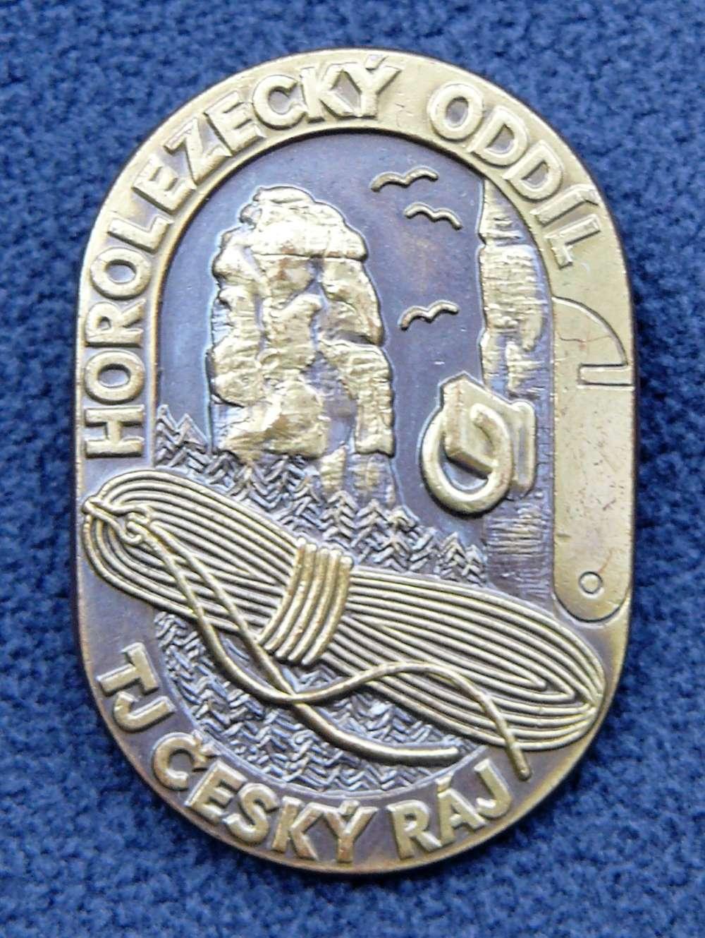 Odznak HO TJ Český Ráj, autor_Jindra_Sochor