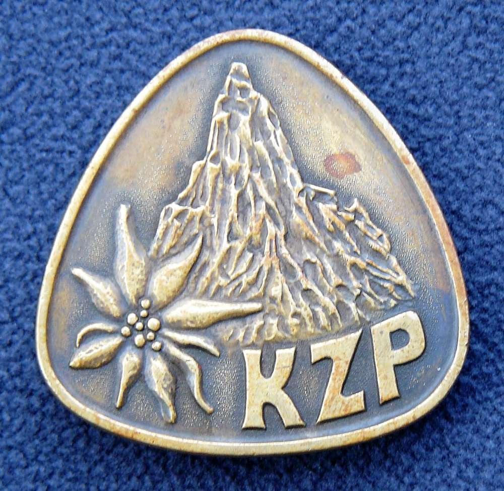Odznak KZP, autor Chroust