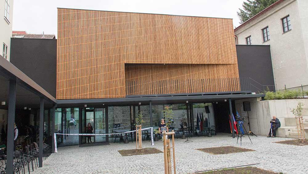 Adaptovaná přístavba muzea Turnov