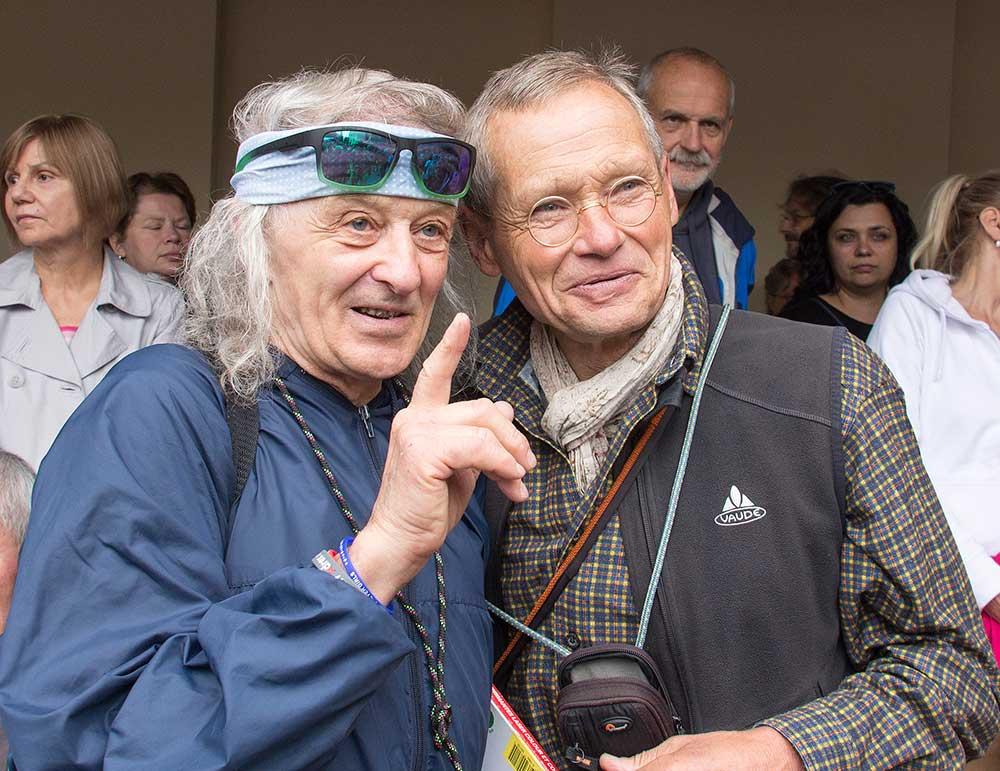 A hned dvě legendy najednou, Bernd Arnold a Petr Prachtel