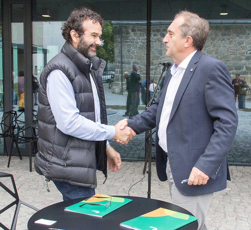 Podpis deklarace ČHS - AOPK